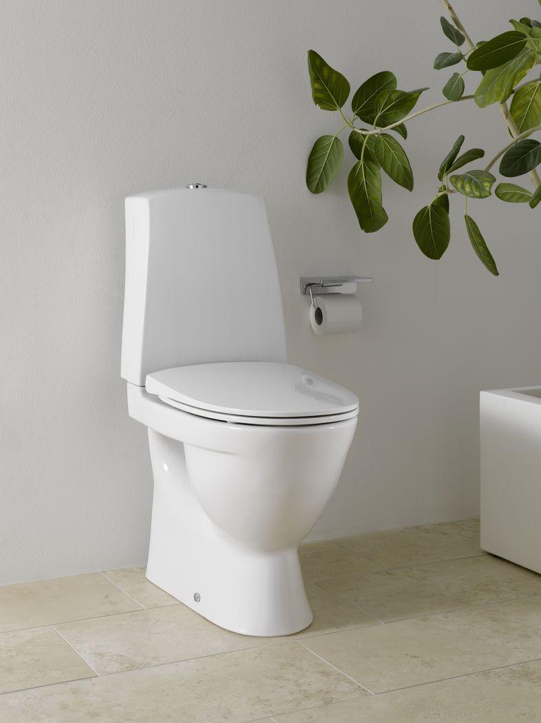 Laufen Toilet Med S-lås